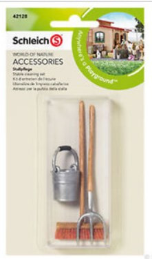 Schleich Stable Cleaning Set