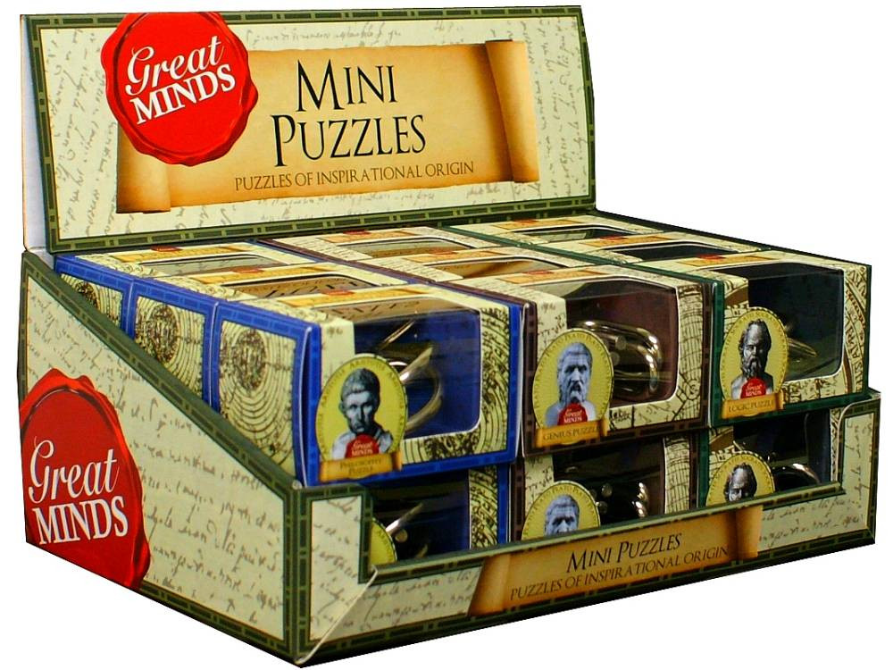 Great Minds Mini Metal Puzzle