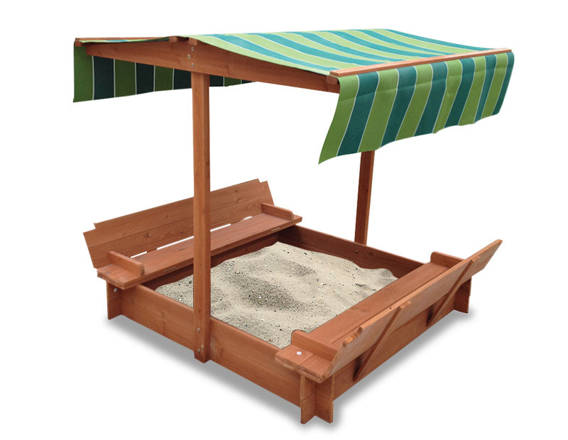 Lifespan Kids Skipper Sandpit with Canopy