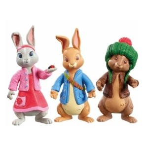 Peter Rabbit 3-Figures Best Friends