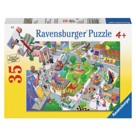 Ravensburger Busy City Puzzle 35pc
