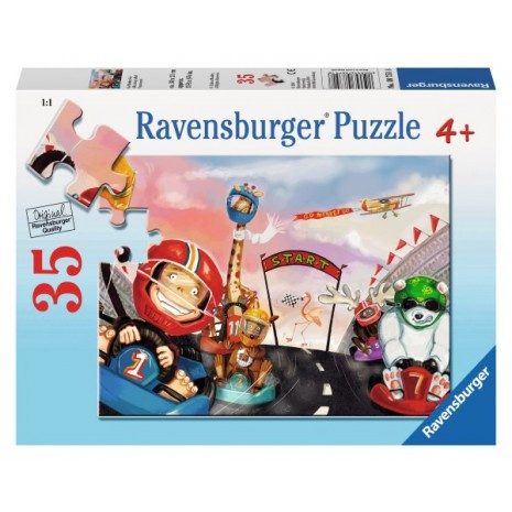 Ravensburger Go Monkey Go Puzzle 35pc