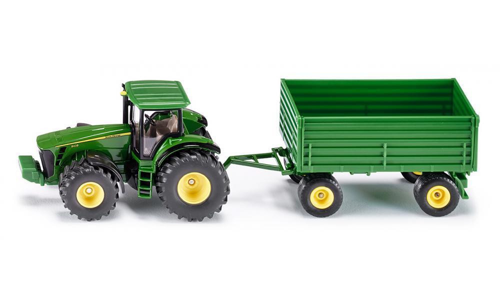 Siku Tractor with Trailer 1:50