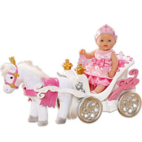 Baby Born Interactive Horse with Carriage