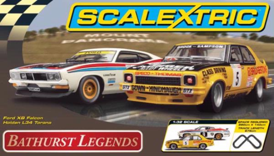 Scalextric Bathurst Legends with Holden L34 Torana