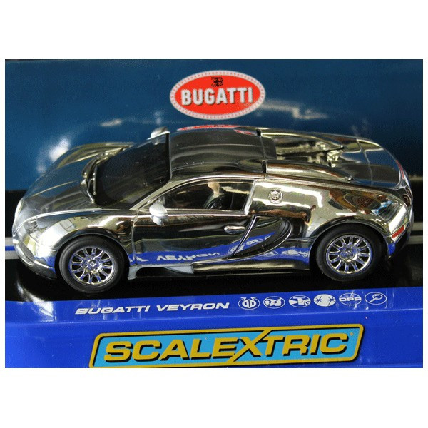 Scalextric Chromed Bugatti Veyron