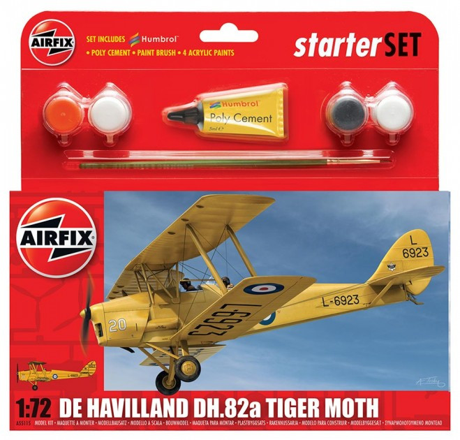 Airfix De Havilland D.H.82A Tiger Moth 1:72