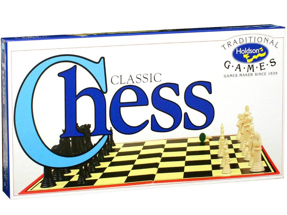 Chess Set Solid Pieces (C12)