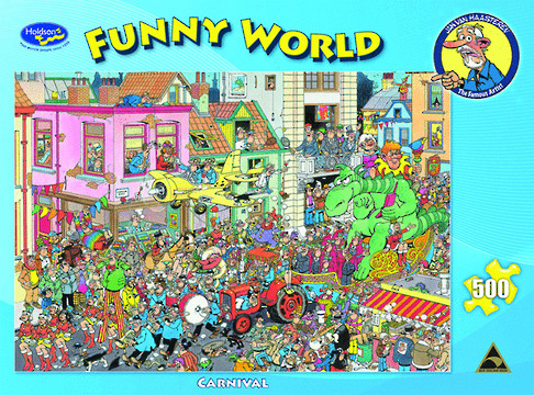 Funny World Farm Visit 500pc