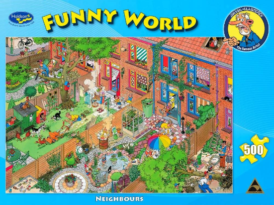 Funny World Neighbours 500pc