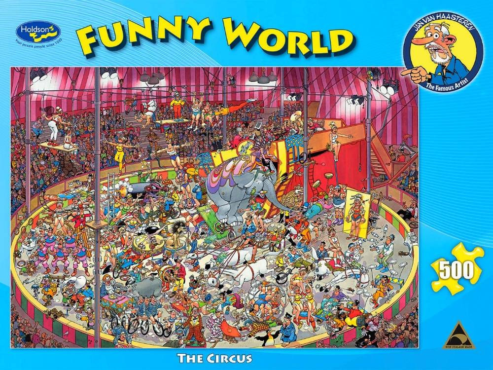 Funny World The Circus 500pc