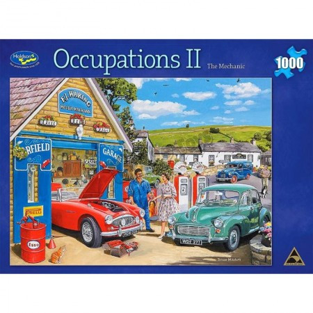 Occupations II Mechanic 1000pc