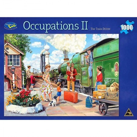 Occupations Ii Train Driver