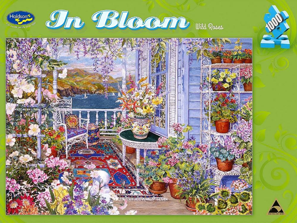 In Bloom Wild Roses 1000pc