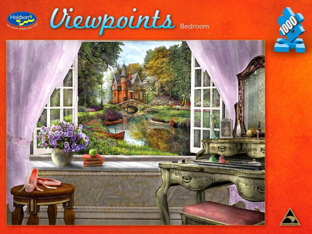 Viewpoints Bedroom 1000pc