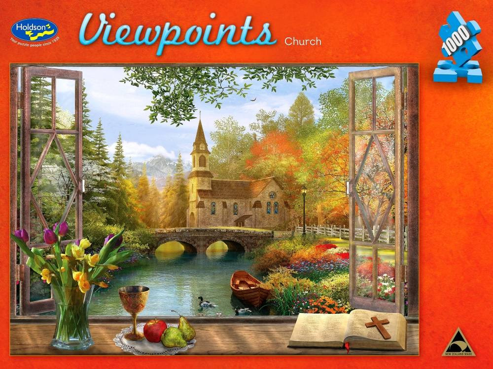 Viewpoints Church 1000pc