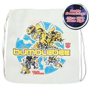 Transformers Plain Cotton Library Bag