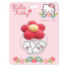 Hello Kitty Home Sweet Home Eraser Pot