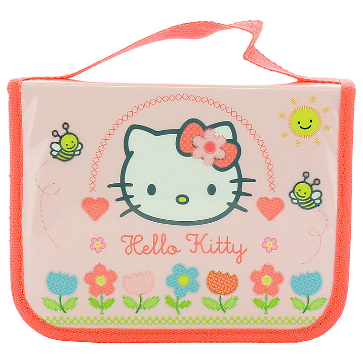 Hello Kitty Home Sweet Home Filled Pencil Case