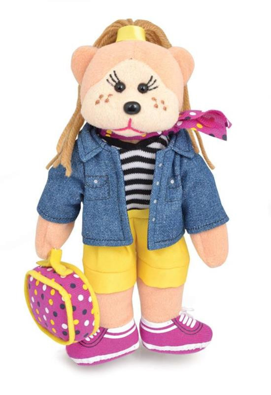 Beanie Kids Harlow the Travel Bear