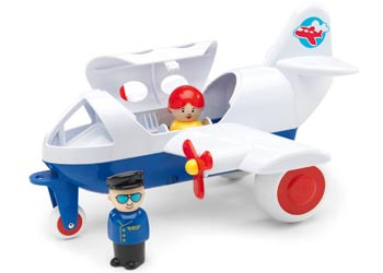 Viking Toys Airline with 2 Figures