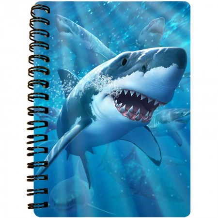 3D LiveLife Jotter A6 Notepad - Great White Delight