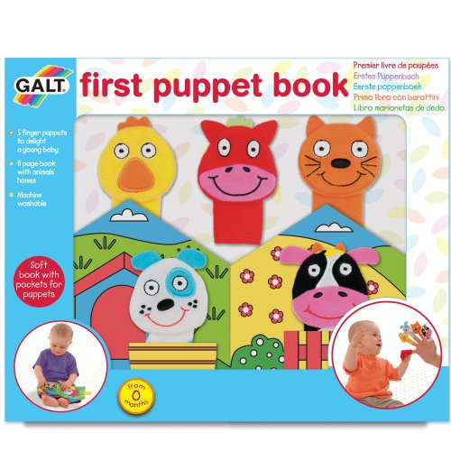 Galt My First Puppet Book
