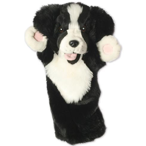The Puppet Company Border Collie Long Sleeved Glove Puppet