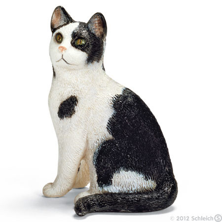 SC13637 Schleich Cat Sitting