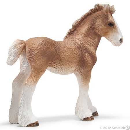 SC13671 Schleich Clydesdale Foal