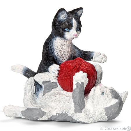 SC13724 Schleich Kittens With Ball Yarn