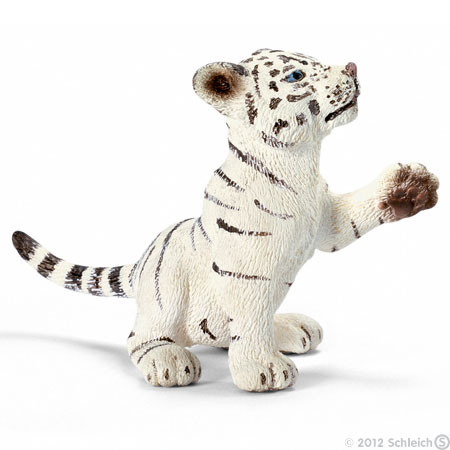 SC14385 Schleich Tiger Cub White Playing