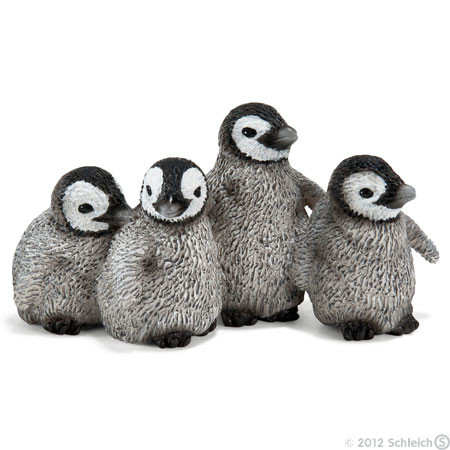 SC14618 Schleich Emperor Penguin Chicks
