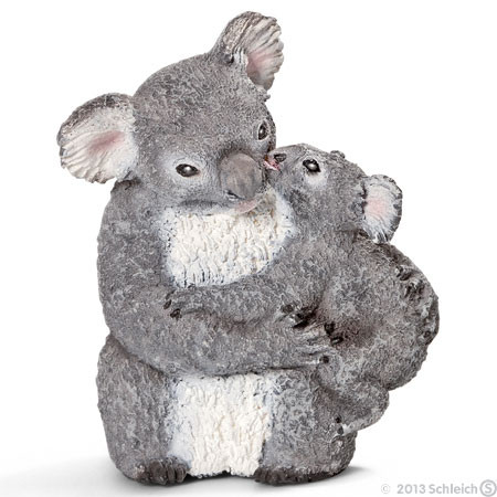 SC14677 Schleich Koala Bear With Cub