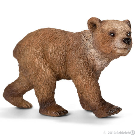 SC14687 Schleich Grizzly Bear Cub