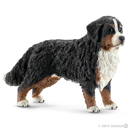 SC16397 Schleich Bernese Mountain Dog Female