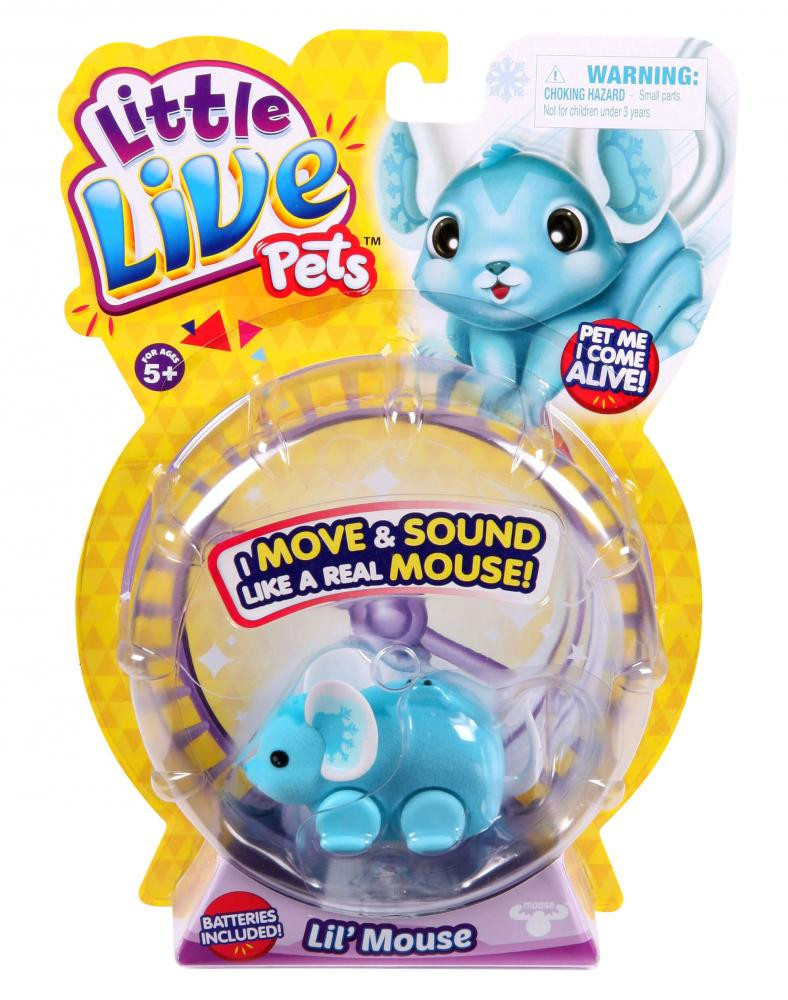 Little Live Pets Lil Mice Single Pack Assorted