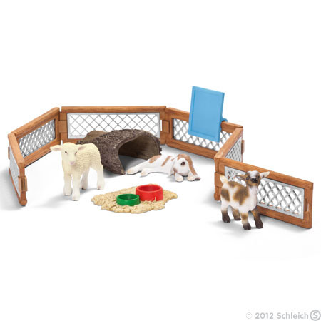 SC41814 Schleich Petting Zoo Scenery Pack