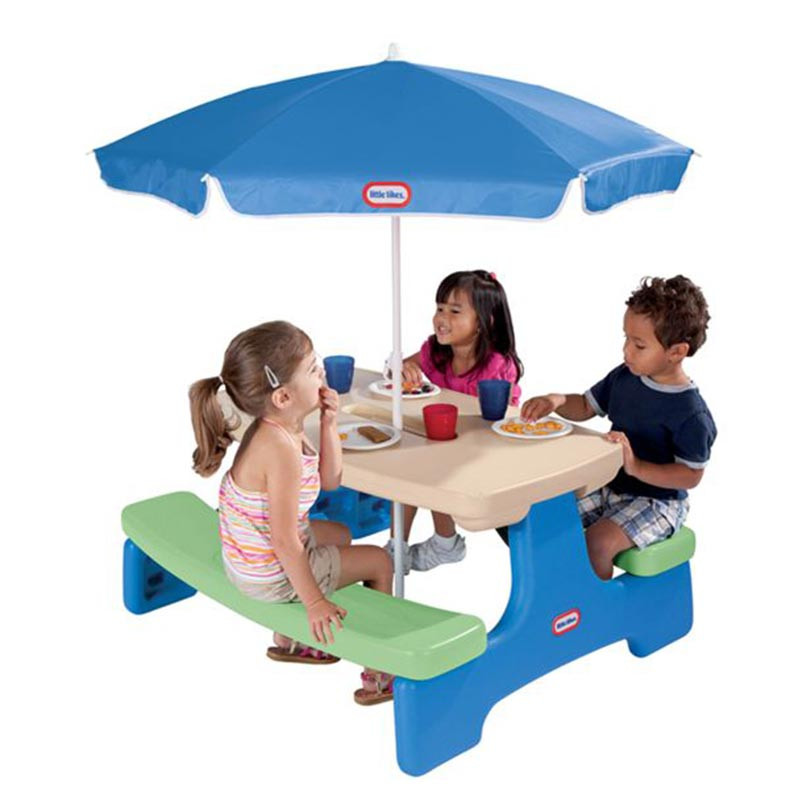 Little-Tikes-Easy-Store-Picnic-Table-with-Umbrella