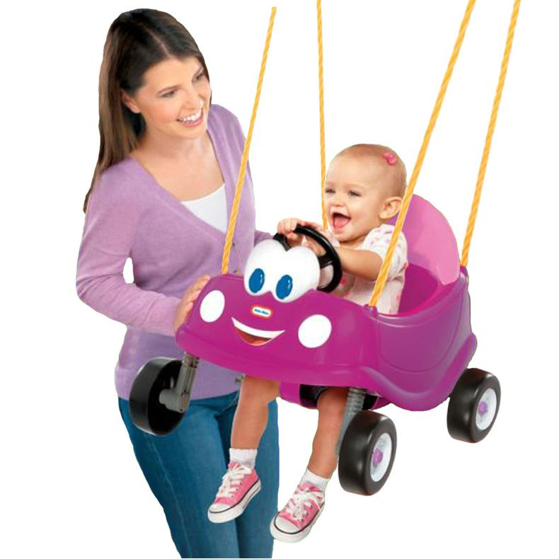Little-Tikes-Princess-Cozy-Coupe-First-Swing