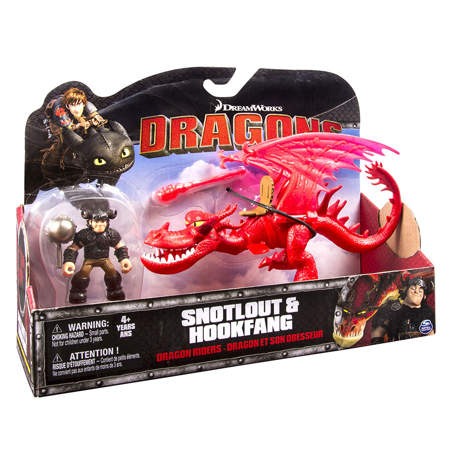 How To Train Your Dragon- Dragon and Rider (Asst)