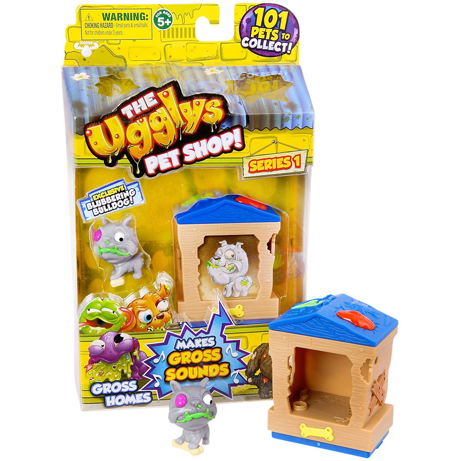 The Ugglys Pet Shop S1 Gross Homes Pack Assorted