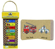 Green Start Book Tower: Little Vehicles