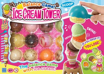 Blue Opal Icecream Tower Balance Game