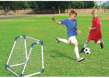Orbit Junior Soccer Goals Set