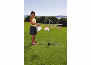 Orbit Peg N Play Metal Clothes Line