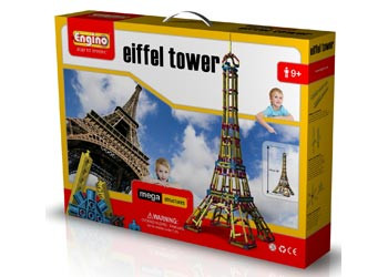 Engino Mega Structures Eiffel Tower