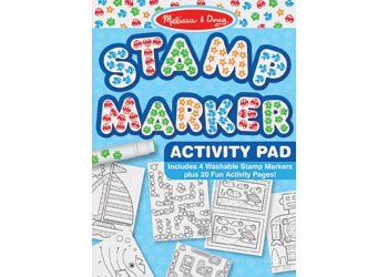 Melissa & Doug - Stamp Marker Activity Pad - Pink