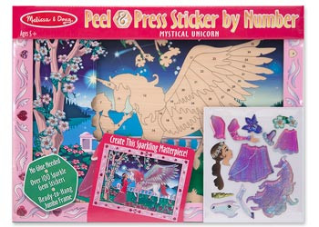 Melissa & Doug Peel Press Mystical Unicorn