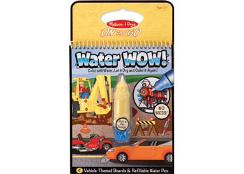 M&D - On The Go - Water WOW! - Vehicles
